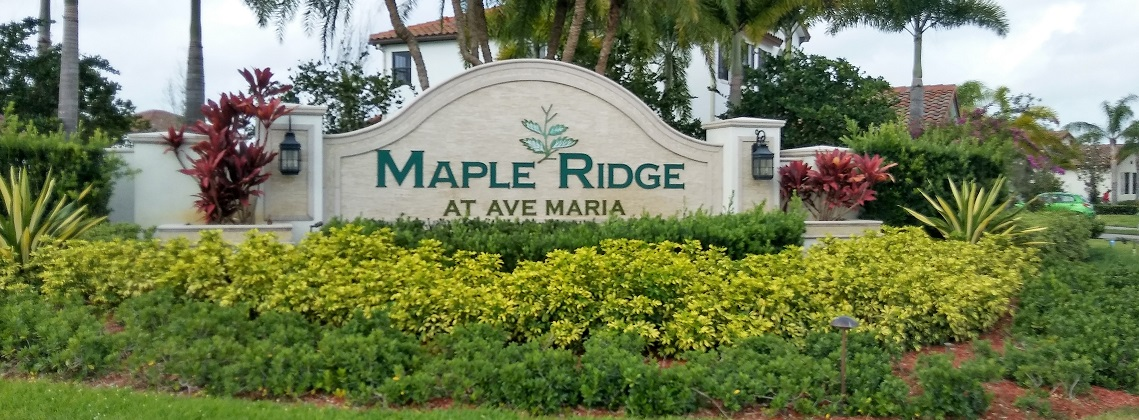 Maple Ridge Ave Maria